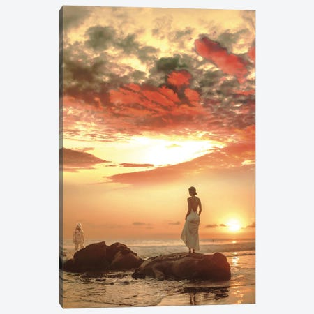 To love someone pt 2 Canvas Print #ROH133} by Rob Hakemo Canvas Art Print