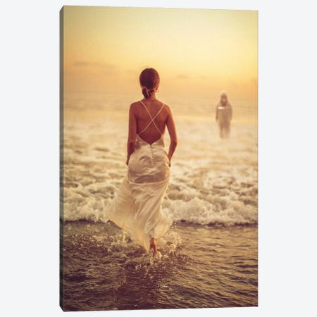 To love someone pt 1 Canvas Print #ROH134} by Rob Hakemo Canvas Wall Art