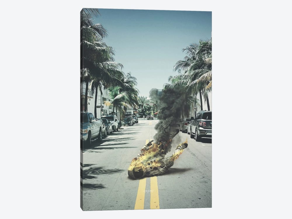 Fallen by Rob Hakemo 1-piece Canvas Art Print