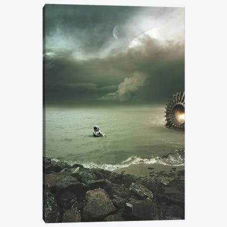 Ground Zero Canvas Print #ROH21} by Rob Hakemo Art Print