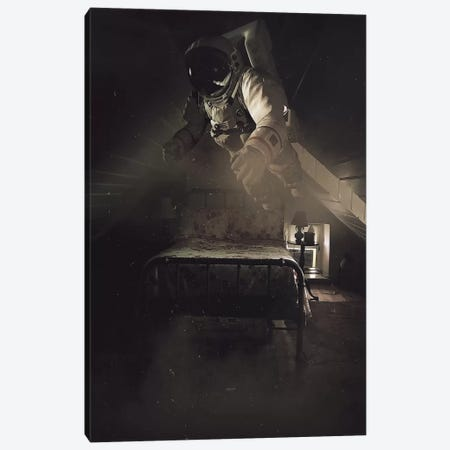 Insomnia Canvas Print #ROH23} by Rob Hakemo Canvas Print