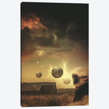 Mind Astray Canvas Print #ROH26} by Rob Hakemo Canvas Wall Art