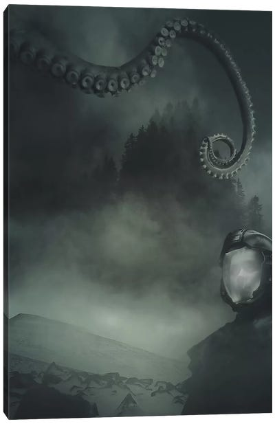 Something Wicked.. Canvas Art Print