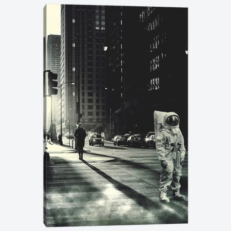 Street Smart II Canvas Print #ROH35} by Rob Hakemo Art Print