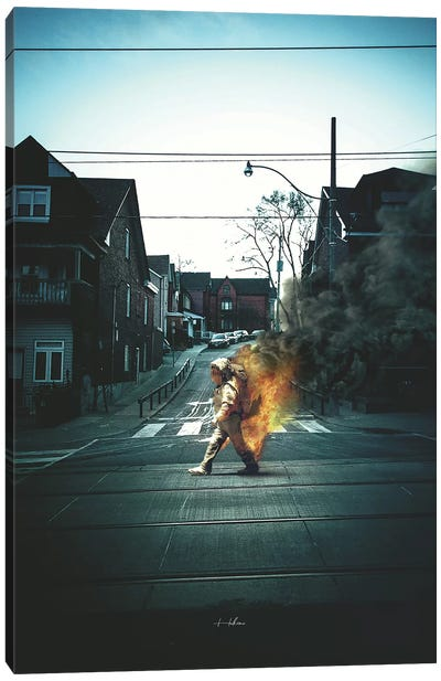 Better To Burn Canvas Art Print