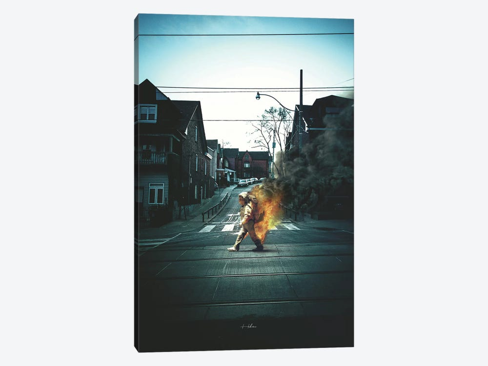 Better To Burn by Rob Hakemo 1-piece Canvas Artwork