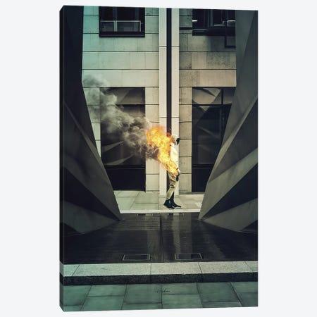 Burn Canvas Print #ROH50} by Rob Hakemo Canvas Wall Art