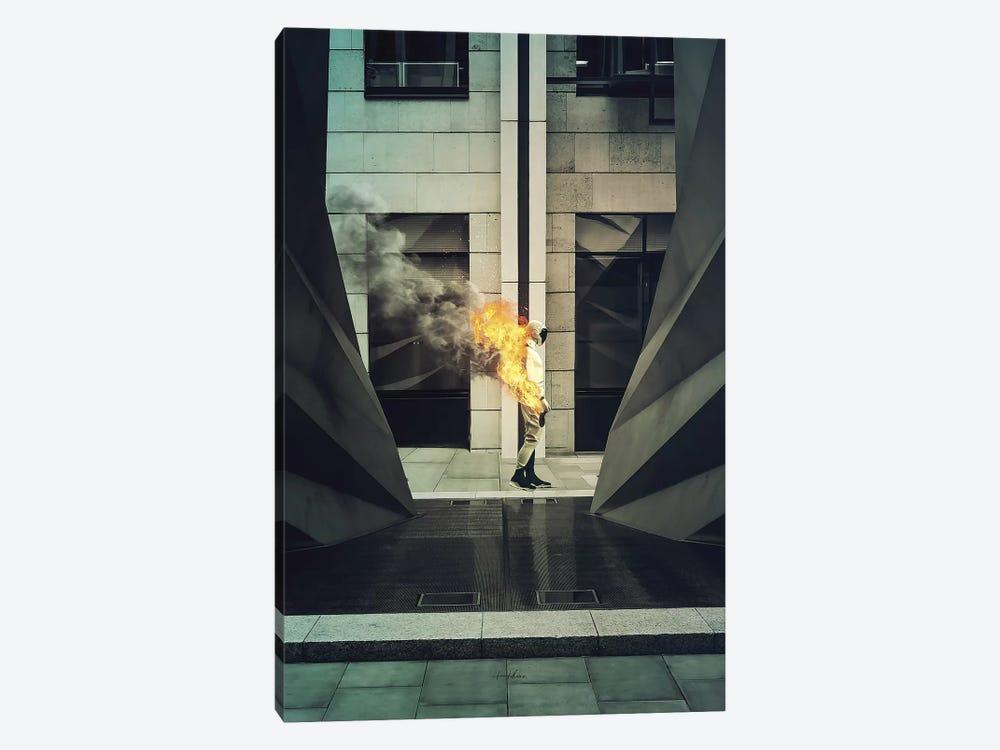 Burn by Rob Hakemo 1-piece Canvas Art
