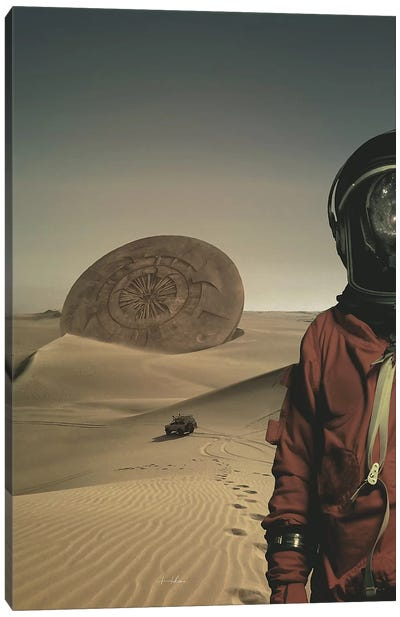 Explorer Canvas Art Print