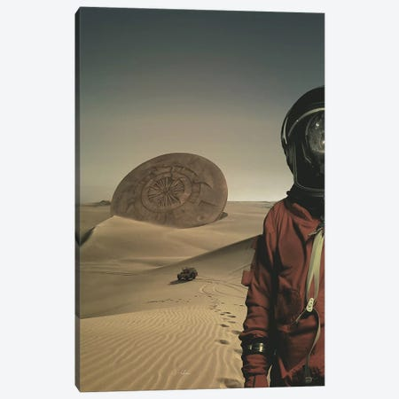 Explorer Canvas Print #ROH55} by Rob Hakemo Art Print