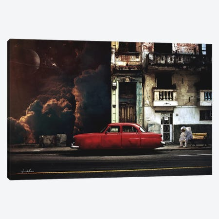 Gas Canvas Print #ROH58} by Rob Hakemo Canvas Wall Art