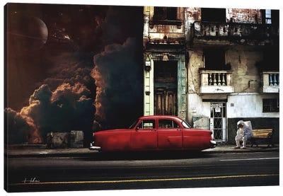 Gas Canvas Art Print
