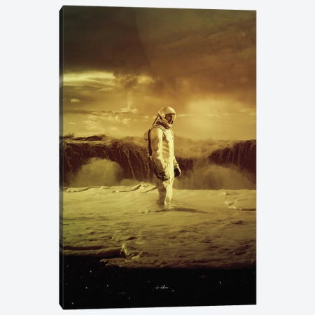 Mars II Canvas Print #ROH61} by Rob Hakemo Canvas Print