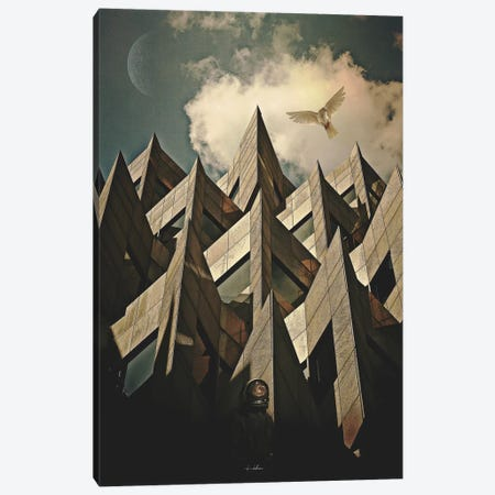 Peace Canvas Print #ROH64} by Rob Hakemo Canvas Wall Art