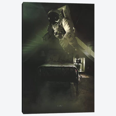 Sleepwalking Canvas Print #ROH65} by Rob Hakemo Canvas Art