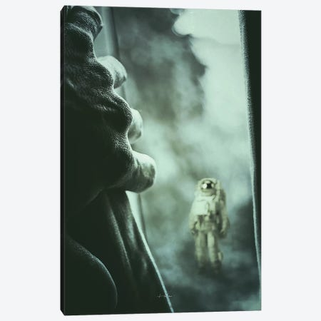 Stranger I Canvas Print #ROH66} by Rob Hakemo Canvas Art