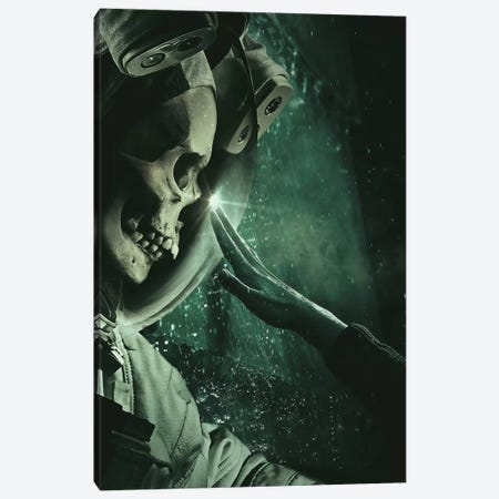 Astrodead Canvas Print #ROH7} by Rob Hakemo Canvas Art Print