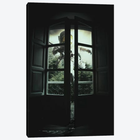 Uninvited Canvas Print #ROH93} by Rob Hakemo Canvas Wall Art