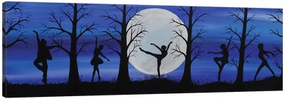 Dance By The Light Of The Moon Canvas Art Print