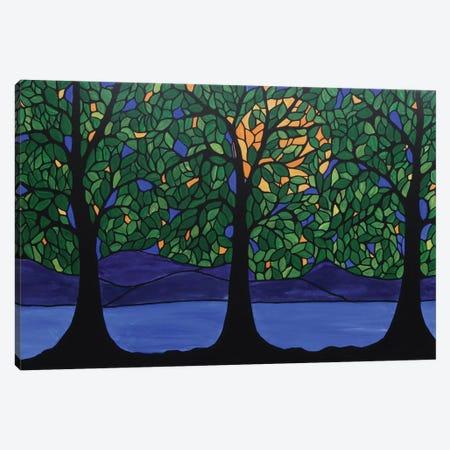 Jubilant Forest Canvas Print #ROL20} by Rachel Olynuk Canvas Art Print