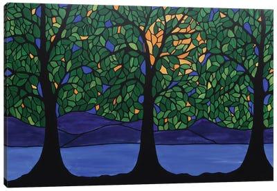 Jubilant Forest Canvas Art Print