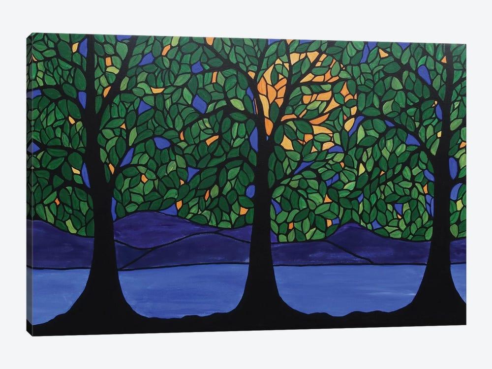 Jubilant Forest by Rachel Olynuk 1-piece Canvas Wall Art