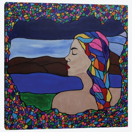 Just Breathe Canvas Print #ROL21} by Rachel Olynuk Canvas Print