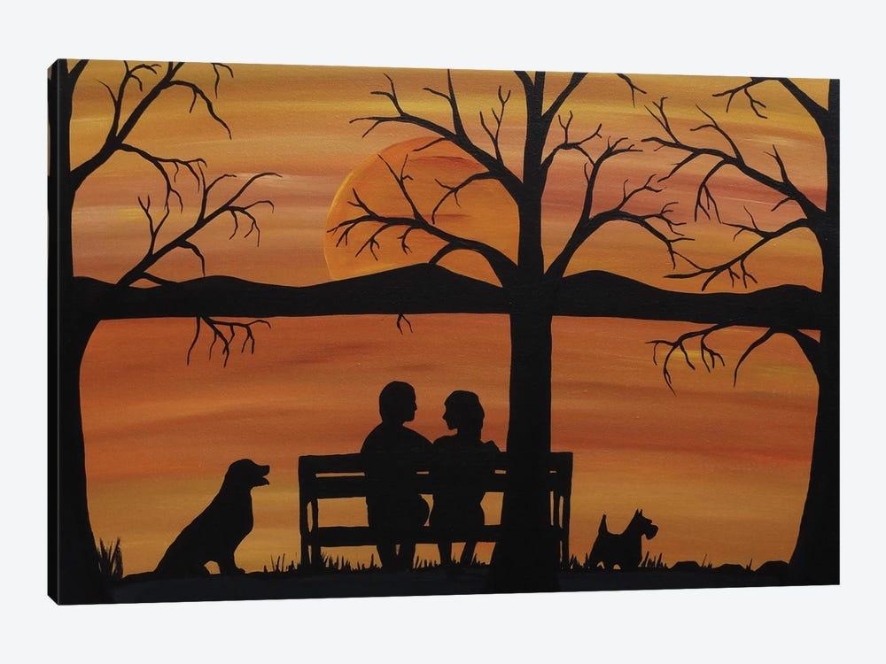 Late Conversations by Rachel Olynuk 1-piece Canvas Wall Art