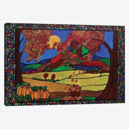 Autumn 3-Piece Canvas #ROL2} by Rachel Olynuk Canvas Wall Art