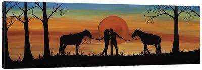 Octobers Kiss Canvas Art Print