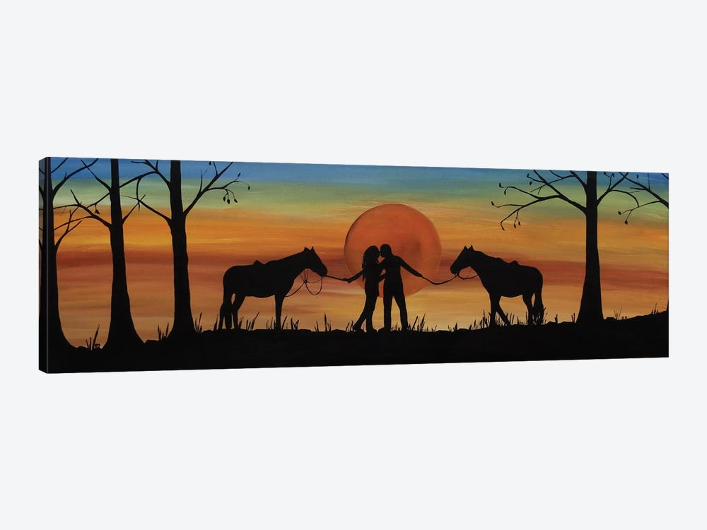Octobers Kiss by Rachel Olynuk 1-piece Canvas Print