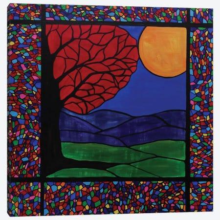 Reflections Of Autumn Canvas Print #ROL37} by Rachel Olynuk Canvas Print