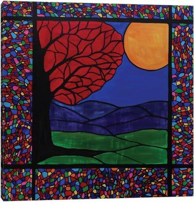 Reflections Of Autumn Canvas Art Print