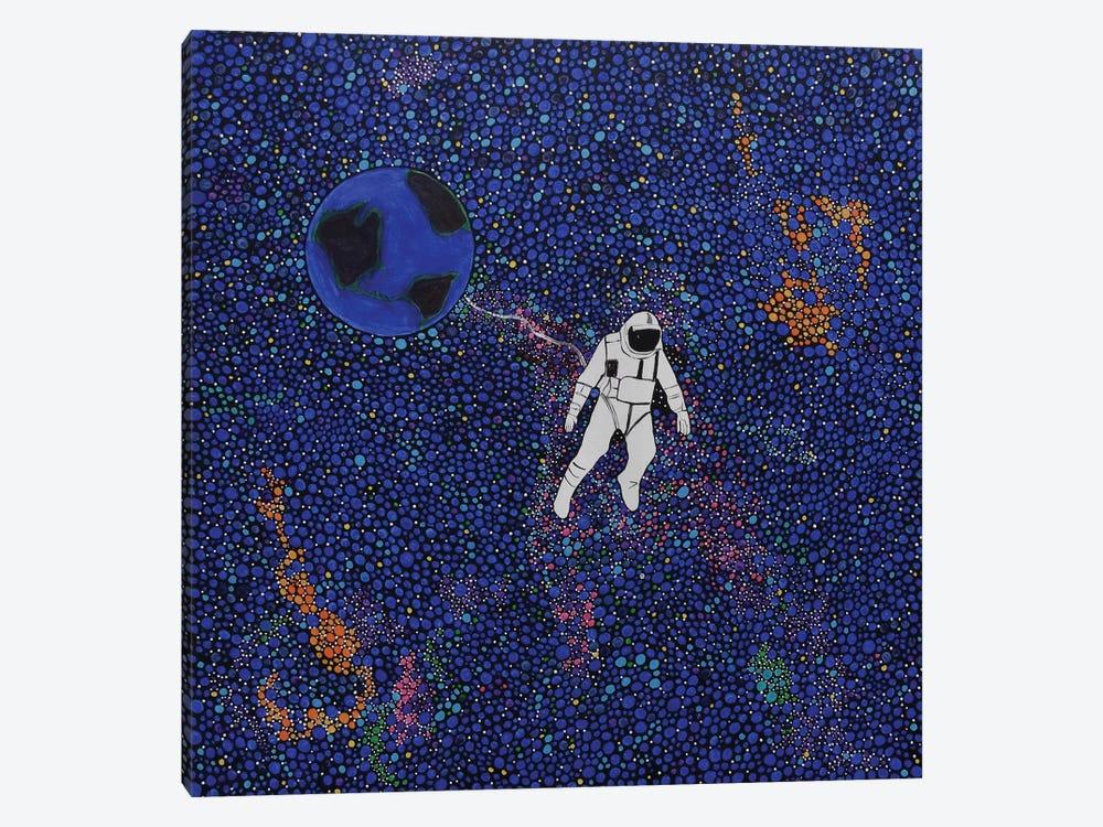 Solitary Blue by Rachel Olynuk 1-piece Canvas Art