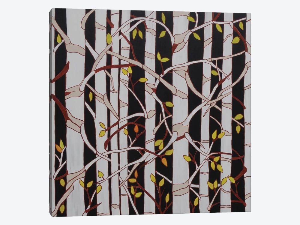 Birch Trees by Rachel Olynuk 1-piece Canvas Artwork