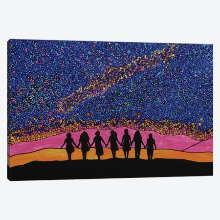 Soul Sisters Canvas Print #ROL41} by Rachel Olynuk Canvas Print