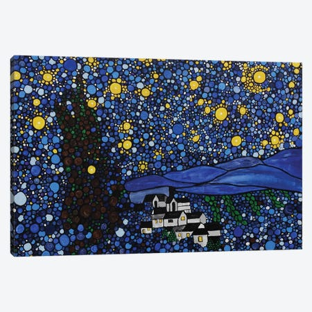 Starry Night Canvas Print #ROL42} by Rachel Olynuk Canvas Art Print