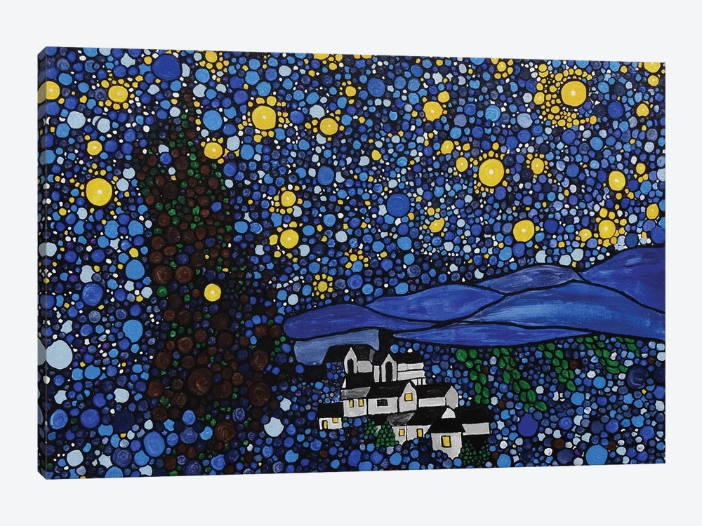 Starry Night by Rachel Olynuk 1-piece Canvas Wall Art