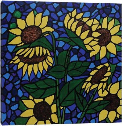 Sunflower Saturday Canvas Art Print