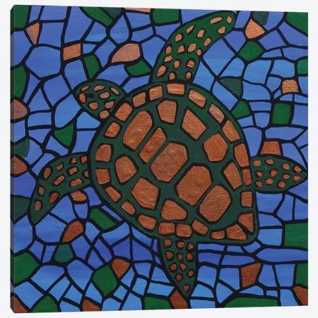 Turtle Canvas Print #ROL45} by Rachel Olynuk Canvas Wall Art