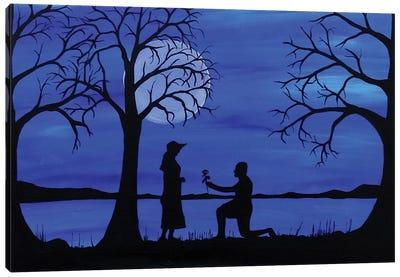 A Thousand Proposals Canvas Art Print