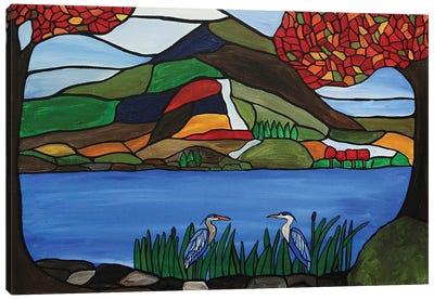 Autumn Mosaic Canvas Art Print