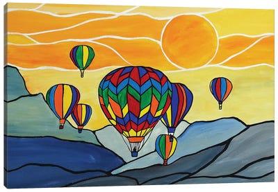 Hot Air Balloons Canvas Art Print