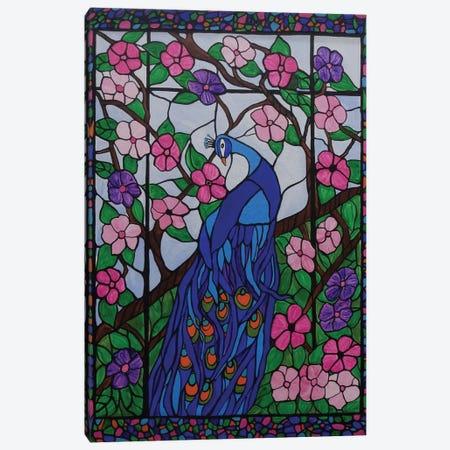 Bohemian Peacock Canvas Print #ROL5} by Rachel Olynuk Canvas Print