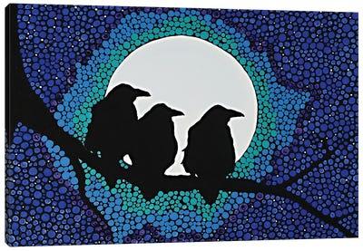 We Three Ravens Canvas Art Print