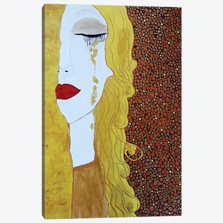 Tears Of Gold Canvas Print #ROL66} by Rachel Olynuk Canvas Art