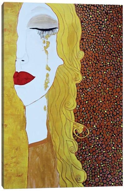 Tears Of Gold Canvas Art Print