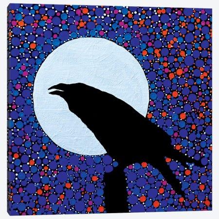 Raven's Magic Canvas Print #ROL67} by Rachel Olynuk Canvas Art