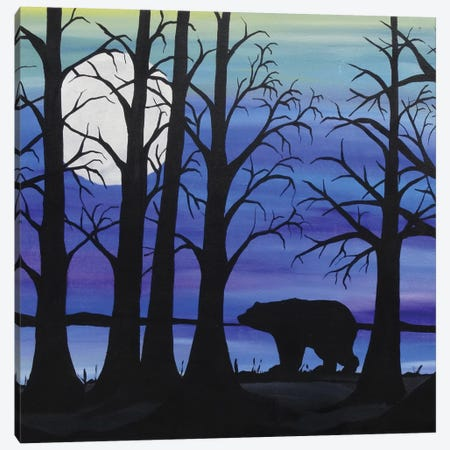 Brother Bear Canvas Print #ROL6} by Rachel Olynuk Canvas Print