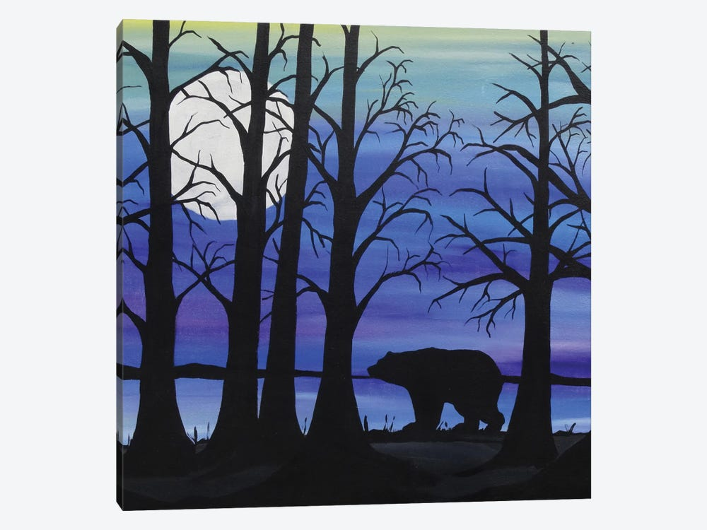 Brother Bear by Rachel Olynuk 1-piece Canvas Print